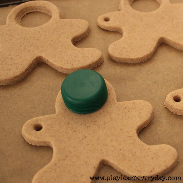 Salt Dough Gingerbread Photo Keepsakes Play And Learn Every Day