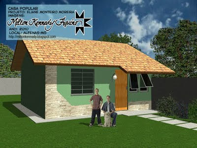 Projeto casa popular