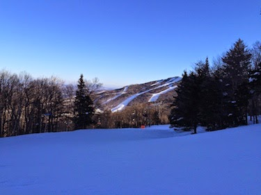 Chuck and Lori's Travel Blog - View from Killington, VT
