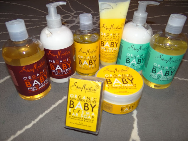 Shea Moisture Organic Baby Products Review - Baby Shopaholic