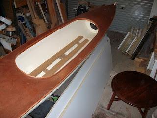 Canoe floor
