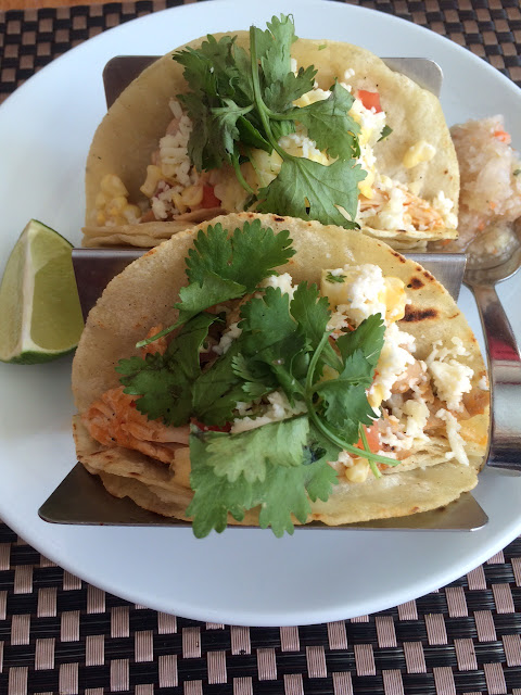reina restaurant frederick maryland review chicken tacos