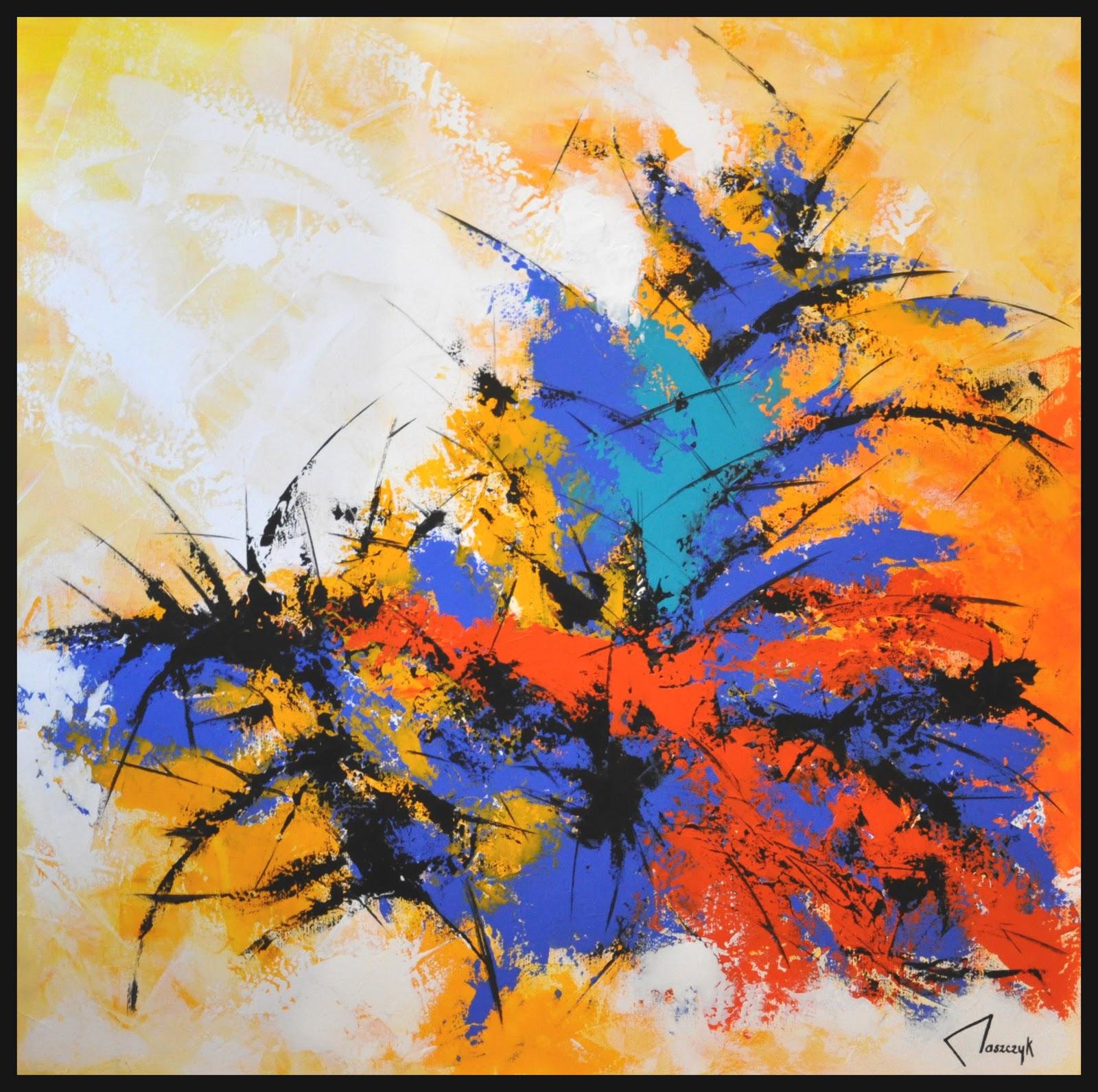 Galerie artistique b nodet for Abstraction lyrique