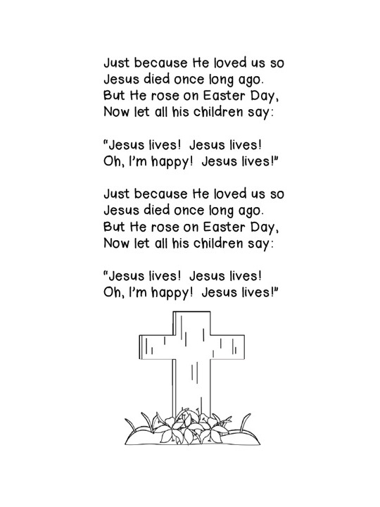 Images of Christian Easter Poems For Preschoolers - The Miracle of ...