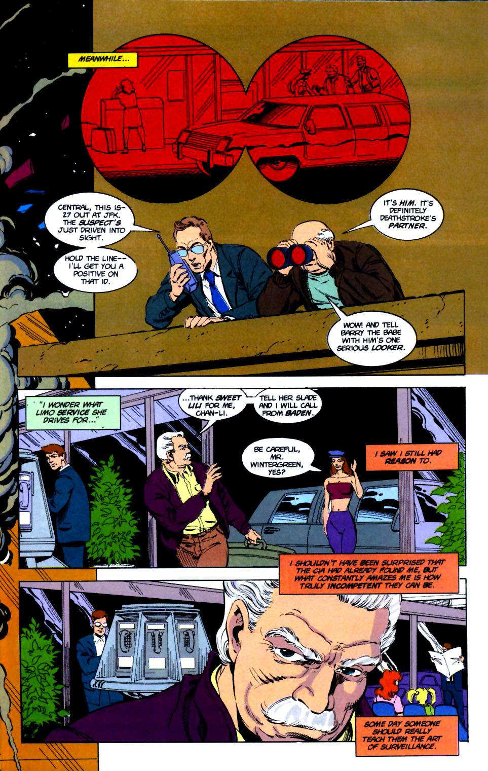 Deathstroke (1991) Issue #16 #21 - English 13