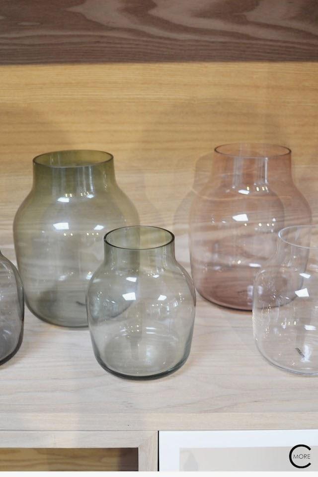 SILENT glass vase  | Muuto at C-More interieuradvies.blogspot.nl