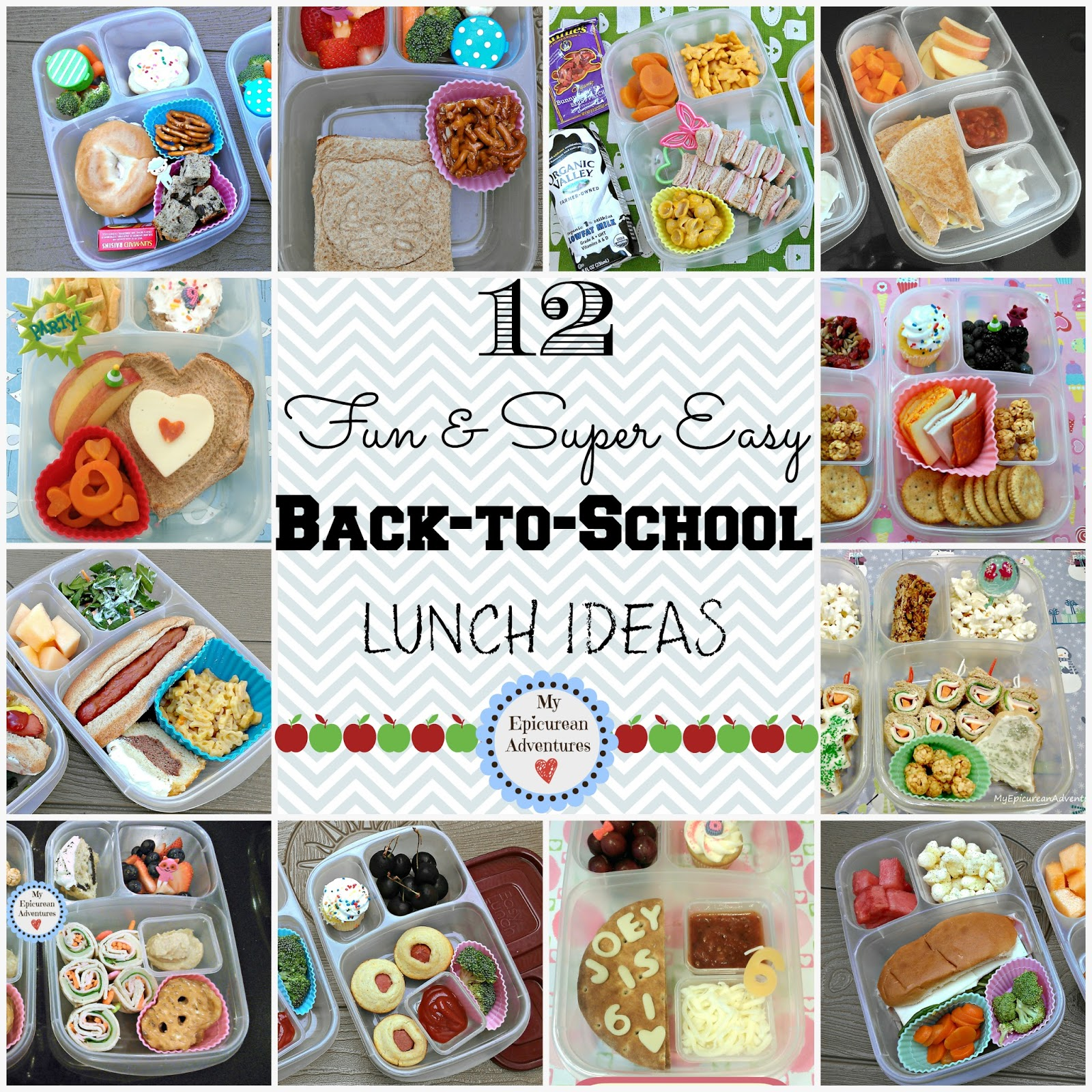12 Super Fun And Easy Back To School Lunch Ideas