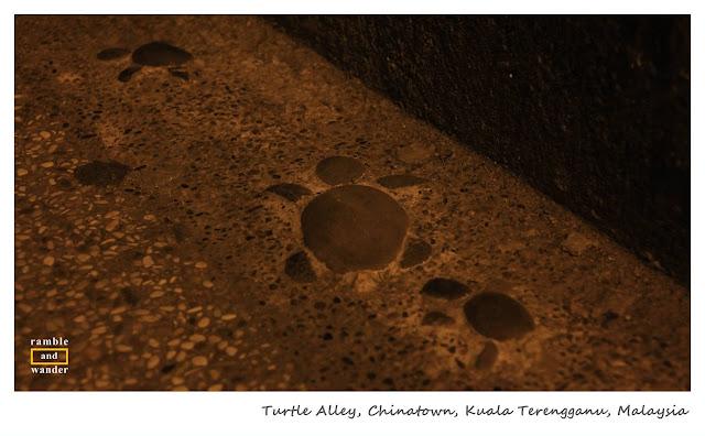 Turtle Alley, Chinatown, Kuala Terengganu, Malaysia   www.rambleandwander.com