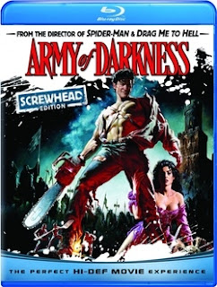 Army of Darkness (1993) (Screwhead Edition blu-ray Review)