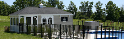 outdoor pool house for sale in PA
