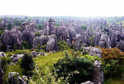 O Bosque de Pedra de Shilin – China