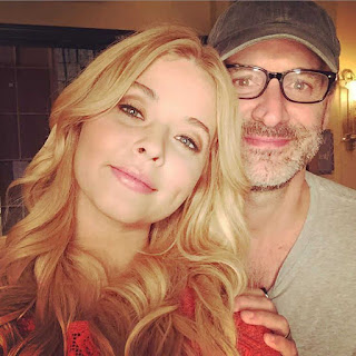 PLL BTS 6x19 Sasha Pieterse and director Roger Kumble