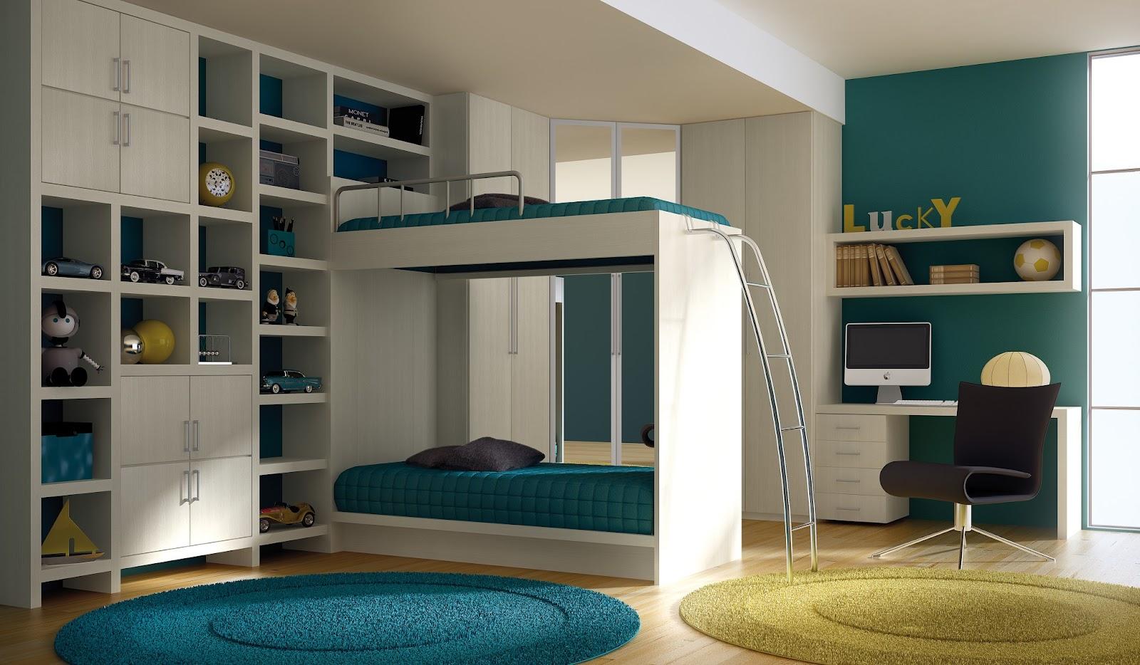 nichos planejados para quartos infantis