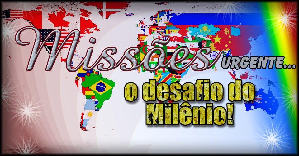 PROJETO: S.O.S MISSÕES PARA CRISTO