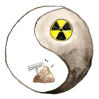ying yang of compost vs nuclear