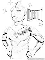 Belajar Mewarnai Gambar Ultraman