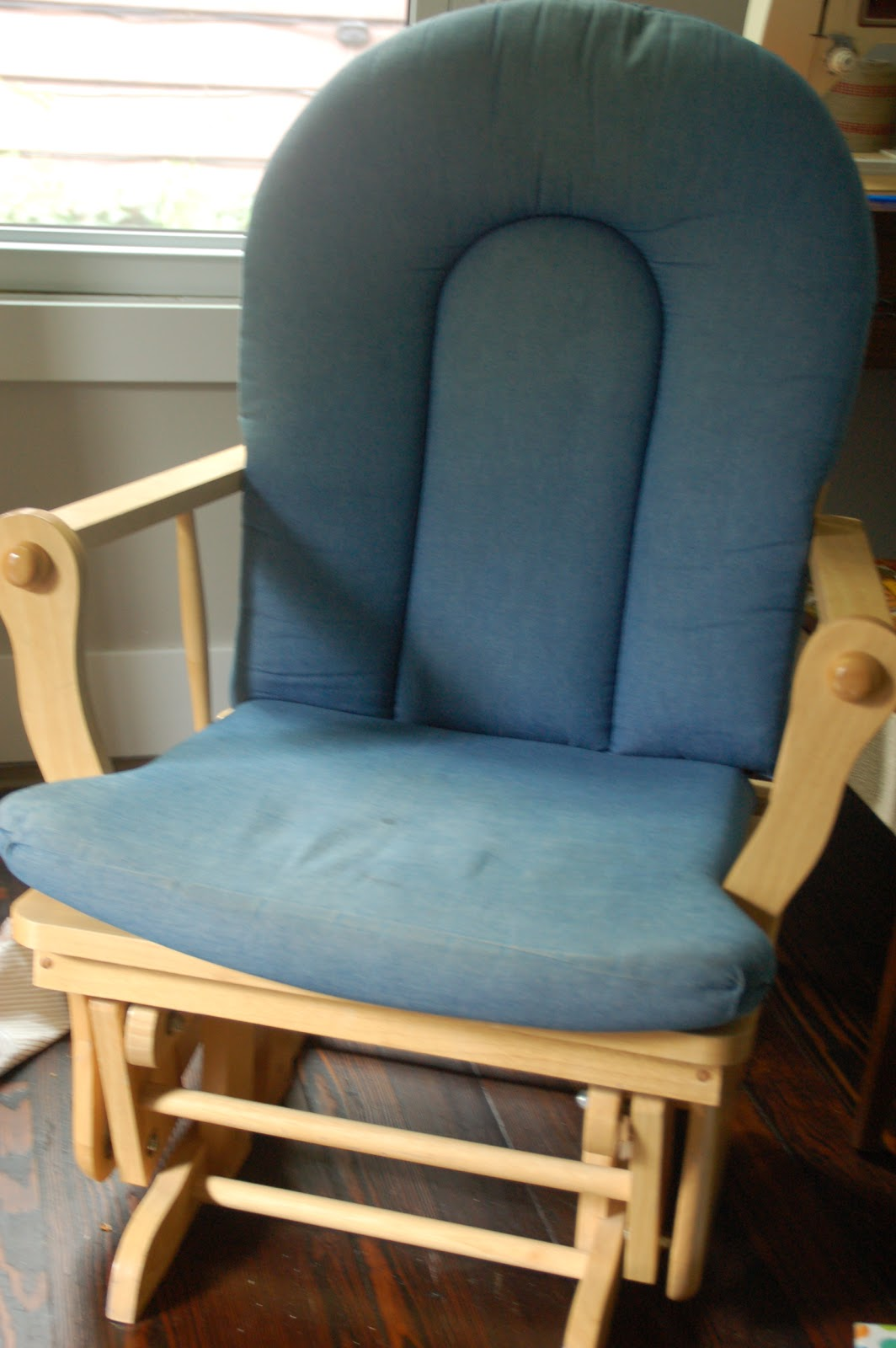 Home.: .:make Do:. Rocking Chair. Full resolution‎  snapshot, nominally Width 1064 Height 1600 pixels, snapshot with #A87423.