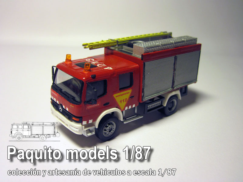 Los servicios de rescate bomberos de 07 Emergency Services amarillo Yellow 1:87 decal