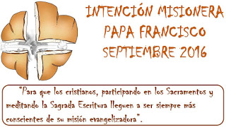 INTENCION MISIONERA
