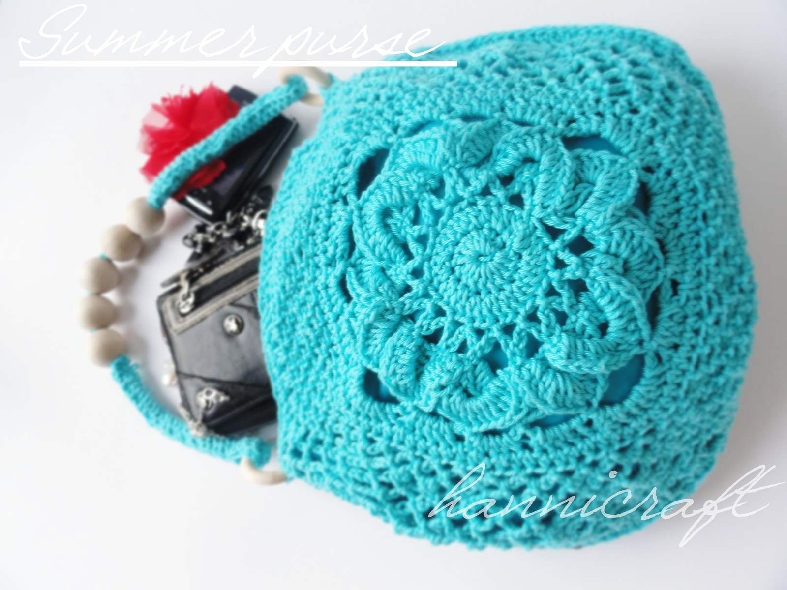 Crochet purse for the Summer