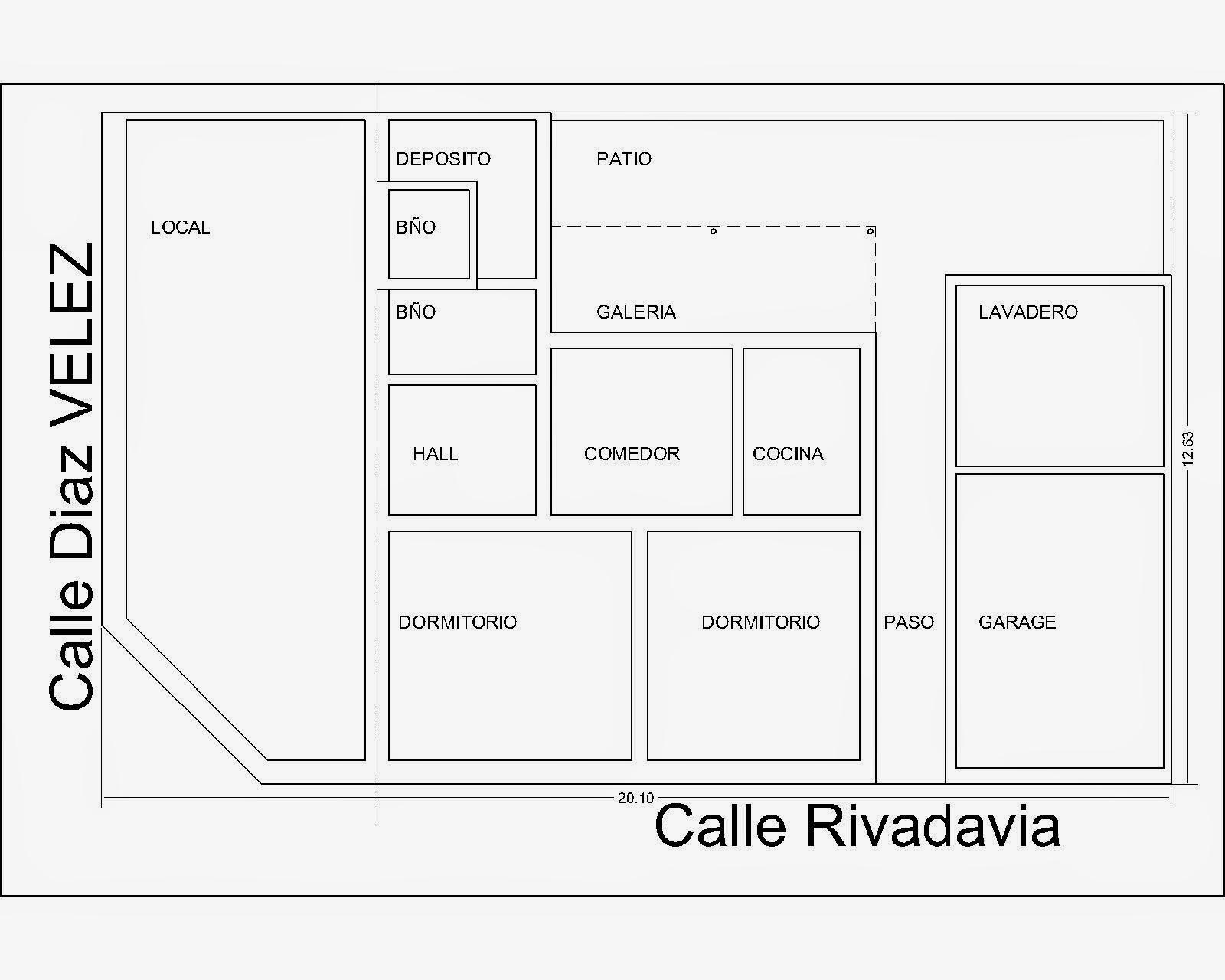 Basilio di candilo inmobiliaria rauch Modelo de casa con local comercial