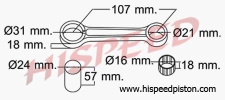 Daftar Connecting Rod Stang Seher Motor Yamaha