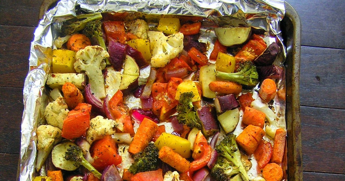 The Melting Pot: Oven Roasted Vegetables