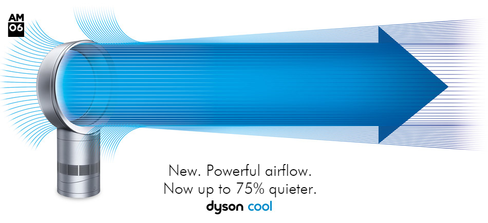 Finding Myself Young Dyson Cool Am06 Review