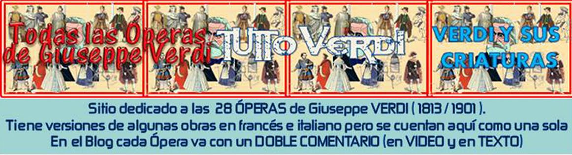 TODAS LAS OPERAS DE VERDI