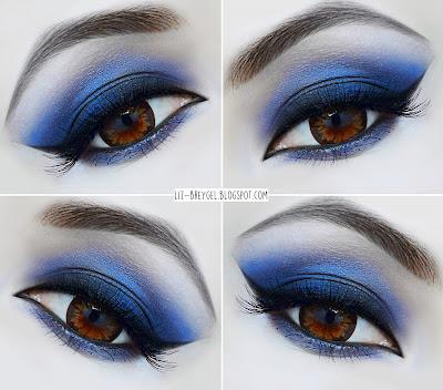 steps to a perfect smoky smokey eyes makeup look tutorial gothic dark dramatic night out makeup contact lens big anime eyes makeup tutorial liz breygel beauty blogger