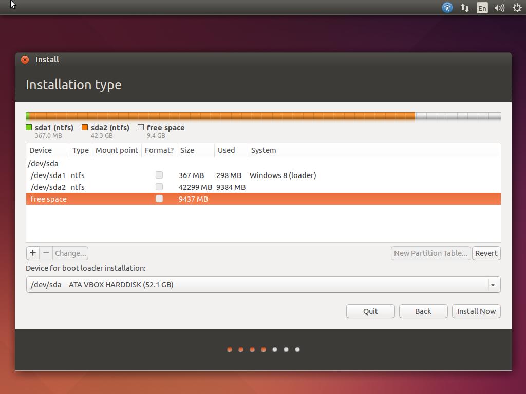 Cara Dual Boot Windows 8.1 Update dengan Ubuntu 14.04 LTS