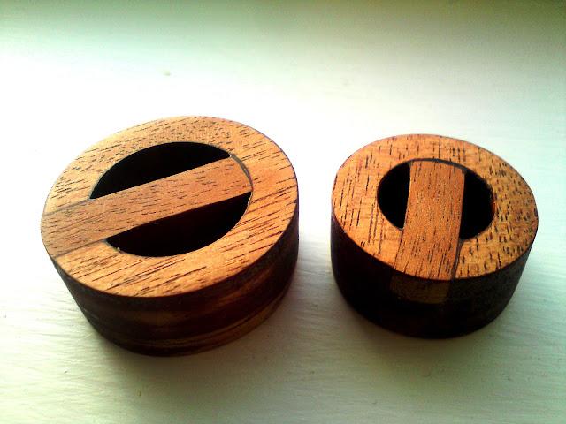 wood leash plugs