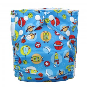 6 Charlie Banana One Size Diapers