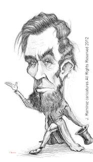 Abraham Lincoln illustration