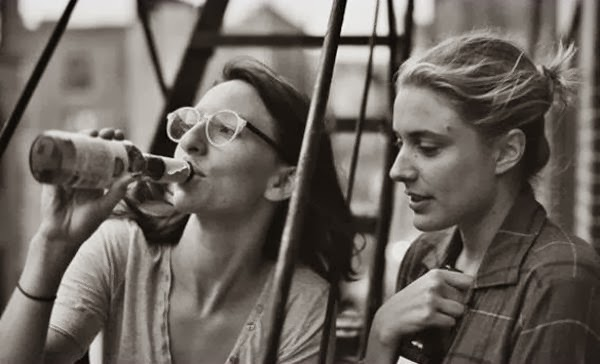 Greta Gerwig and Mickey Summer in Noah Baumbach's Frances Ha