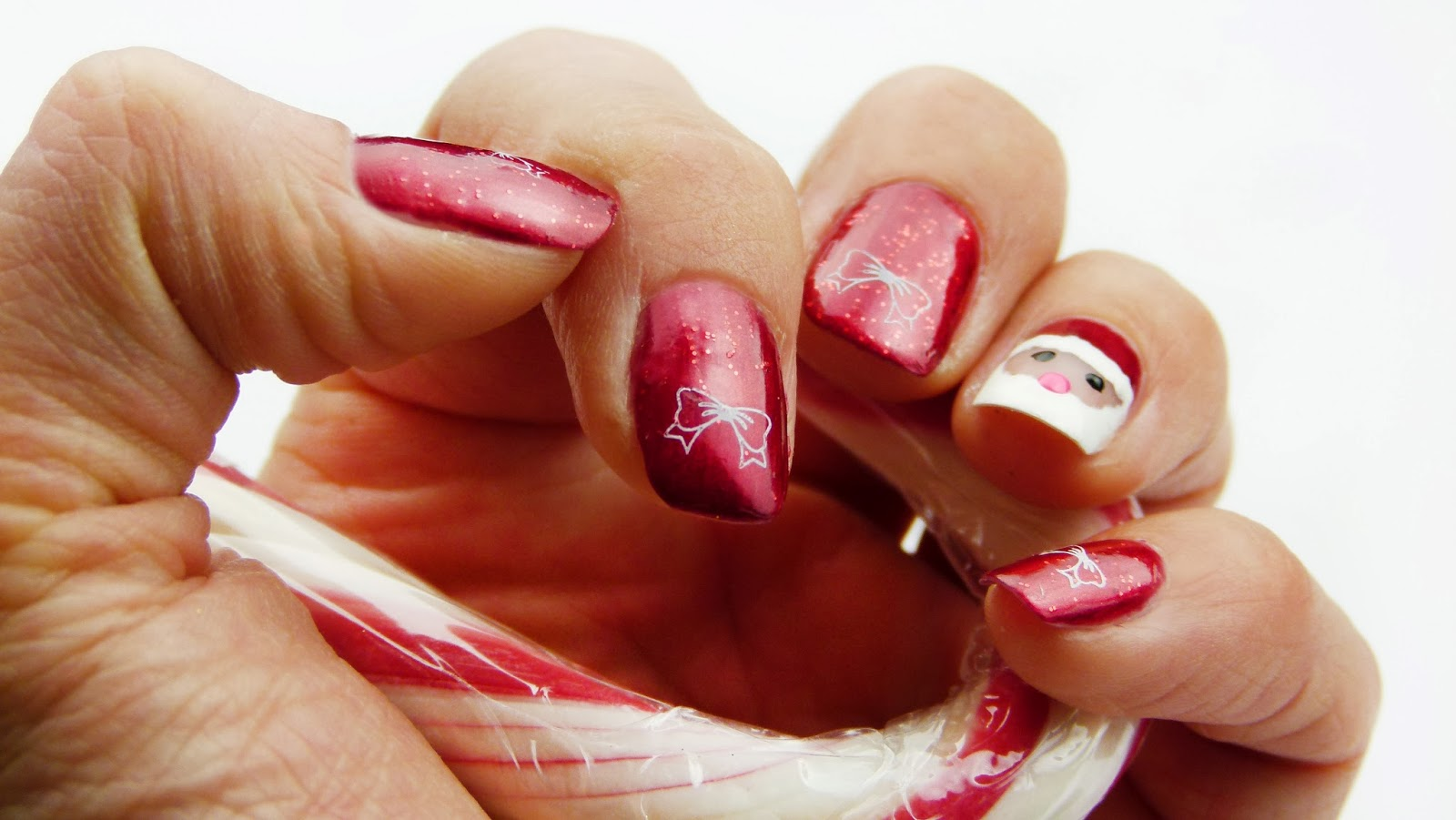 Christmas Bow Nail Designs - Viewing Gallery