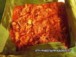 cochinita pibil de pollo