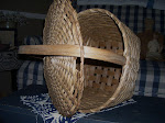 inner view of feather basket, lid is non removable