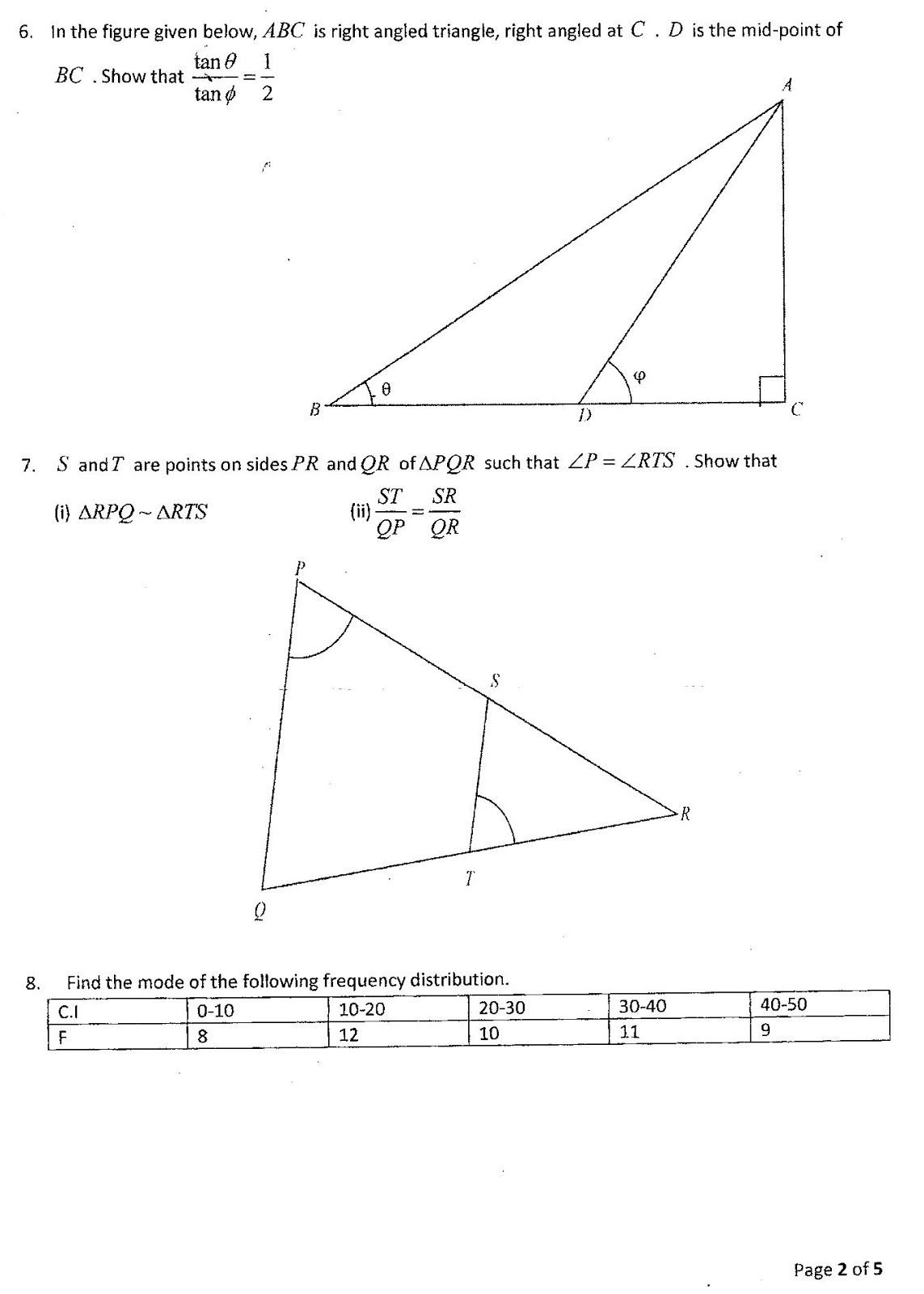 Maths4all class x mathematics suraj bhan dav school vasant vihar class x mathematics suraj bhan dav school vasant vihar sa1 question paper 2015 2016 malvernweather Images