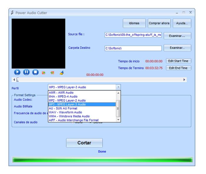 تحميل برنامج تقطيع الصوت ودمجها Power Audio Cutter