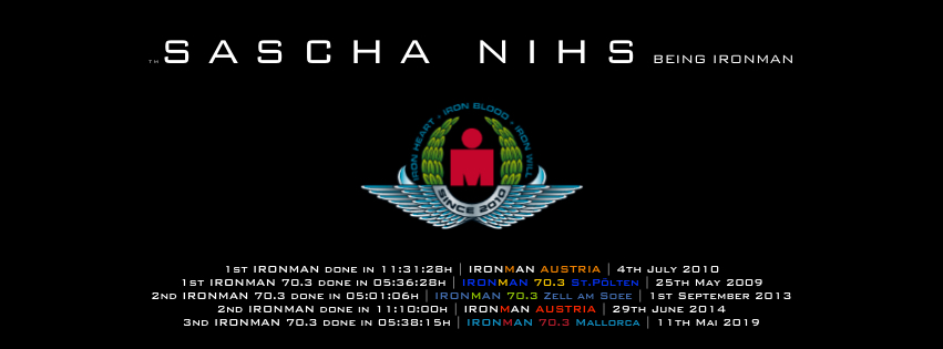 Sascha Nihs - Being IRONMAN since 2010
