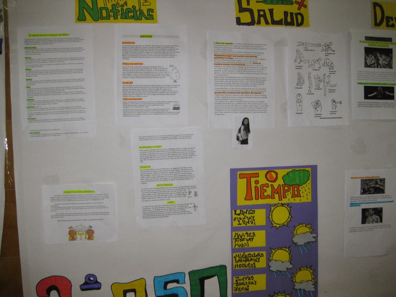 Biblioteca peri dico mural el aprendiz for Componentes de un periodico mural