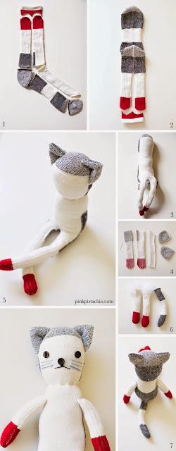 Ondeugende Spruit Sokken DIY knuffel
