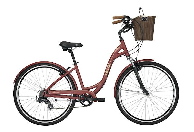 Caloi irá sortear uma linda bicicleta feminina estilo Cycle Chic
