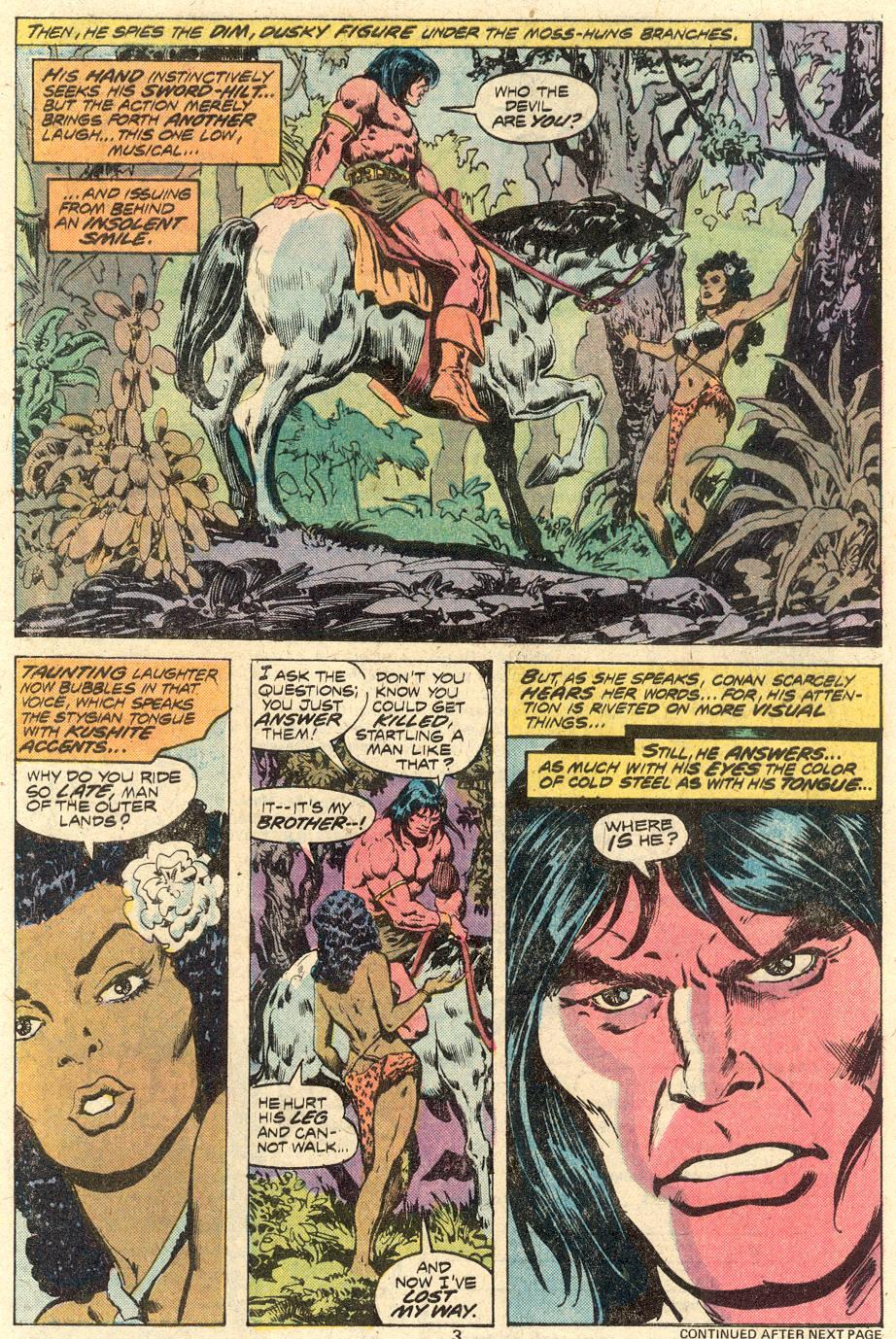 Conan the Barbarian (1970) Issue #82 #94 - English 4