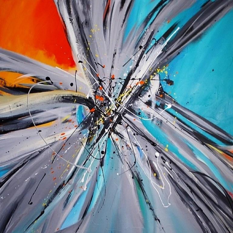Cuadros modernos pinturas y dibujos cuadros abstractos for Imagenes de cuadros abstractos faciles de hacer