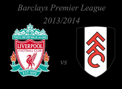 Liverpool vs Fulham Barlays Premier League 2013
