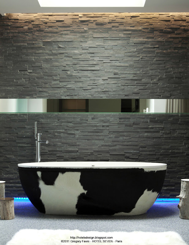 Les plus beaux hotels design du monde h tel seven by vincent bastie virgini - Virginie cauet architecte ...