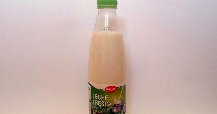 Leche fresca semidesnatada MILBONA (Lidl) el blog de las