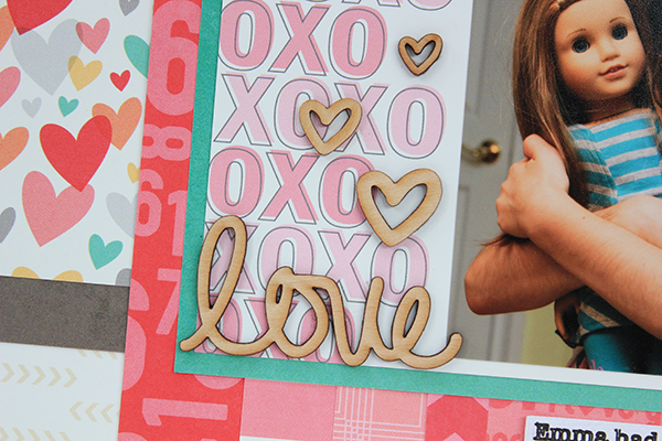 This Is Love Layout for Elle's Studio by Juliana Michaels